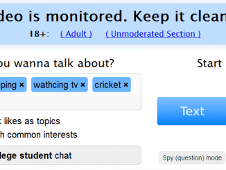 omegle interests